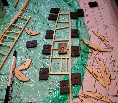 FF-58 Westland Lysander Construction Notes