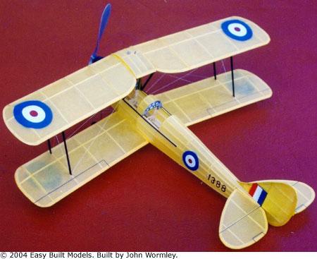 Easy Built Models De Havilland Tiger Moth