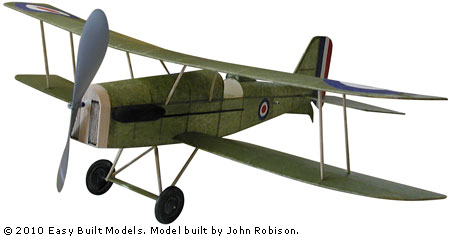 Easy Built Models Royal Aircraft Factory Se5 18 Quot Laser Cut