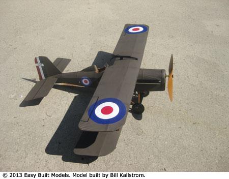 Easy Built Models Royal Aircraft Factory Se5 18 Quot Laser Cut