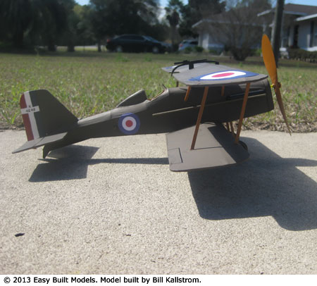 kit LC63 Royal Aircraft Factory SE5 (LASER CUT)