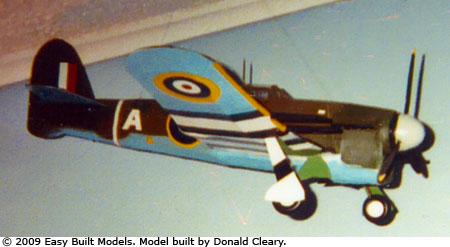 Easy Built Models Hawker Typhoon Tornado