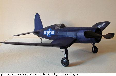 Easy Built Models Vought Corsair