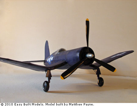 Easy Built Models Vought Corsair