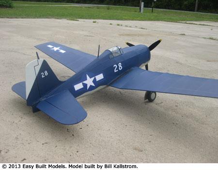 Easy Built Models Grumman Hellcat