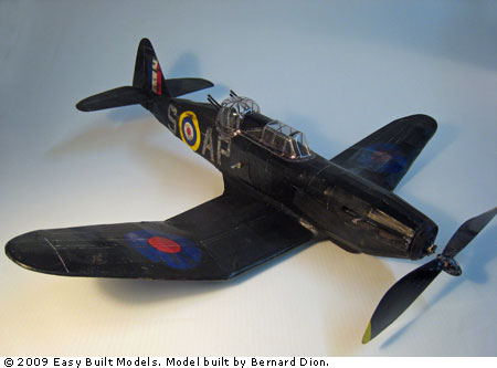kit FF74 Boulton Paul Defiant