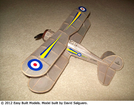 kit FF-98LC Gloster Gladiator (Laser Cut)