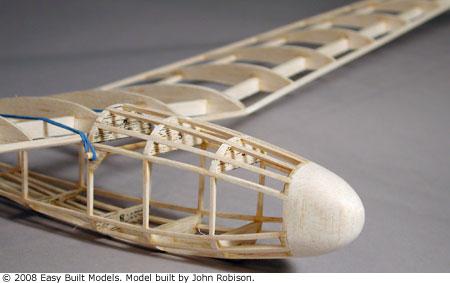balsa wood glider design