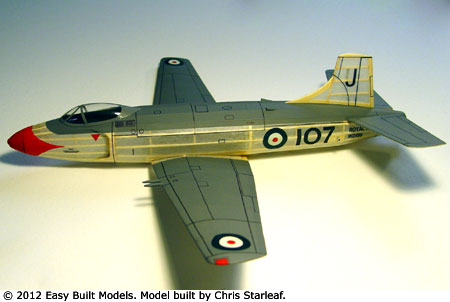 kit JX07 Supermarine Attacker