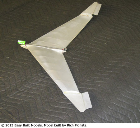 JX-09 Flying Wing with PowerUP