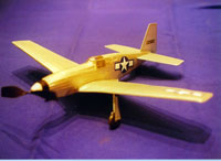 LC-02 North American P-51 Mustang (LASER CUT)