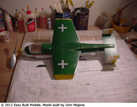 kit PD-04 Heinkel P-1077 (Laser Cut)