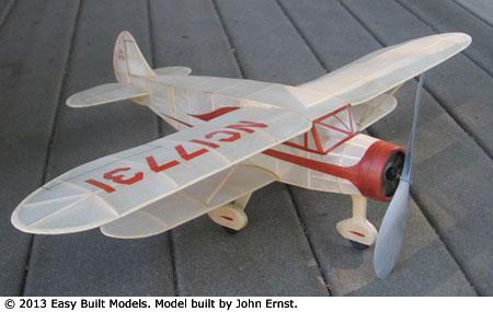 Easy Built Models Waco N Laser Cut