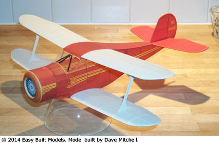 Dave Mitchell's build of Rich Weber's Staggerwing design