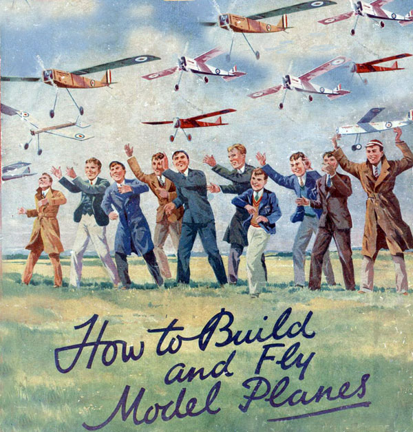model airplanes images from 1920s and 1930s