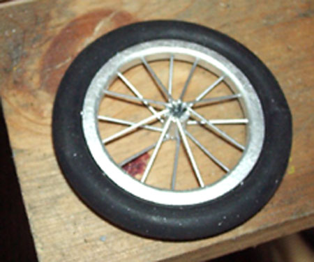 how to make spoked wheels